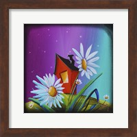 The Bashful House I Fine-Art Print