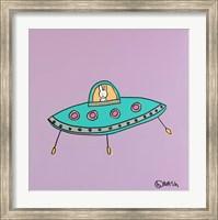 UFO Lala - Purple Fine-Art Print