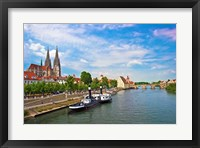 Old Town Skyline, Regensburg, Germany Fine-Art Print