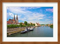 Old Town Skyline, Regensburg, Germany Fine-Art Print