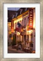 Hotel Bergerand's in Village of Chablis Fine-Art Print