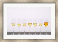 Wine Tasting Glasses, Maison de la Champagne Fine-Art Print