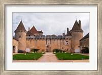 Medieval Chateau de Rully Fine-Art Print