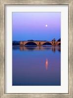 St Benezet Bridge, Avignon Fine-Art Print