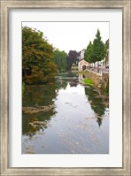 River Serein Flowing Through Chablis in Bourgogne, France Fine-Art Print
