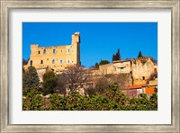 Ruins of the Pope's Summer Castle in Chateauneuf-du-Pape Fine-Art Print