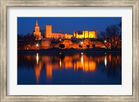 Pope's Palace in Avignon and the Rhone River Fine-Art Print