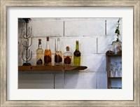Collection of Pear Eau-de-Vie, Champagne Francois Seconde Fine-Art Print