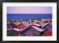 Boathouses of the Aland Islands, Finland Fine-Art Print