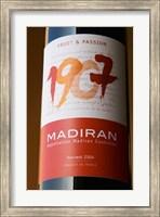 Bottle of 1907 Madiran, France Fine-Art Print