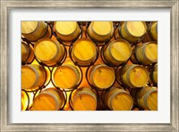 Oak Barriques Winery, Chateau Thieuley, France Fine-Art Print