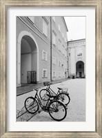 Bicycles in the Domplatz Fine-Art Print