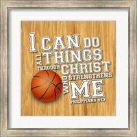 I Can Do All Sports - Basketball Fine-Art Print
