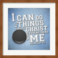 I Can Do All Sports - Hockey Fine-Art Print