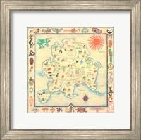 Map Fantasy Fine-Art Print