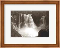 Sepia North Shore Waterfall Fine-Art Print