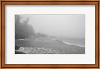Lake Superior Black And White 29 Fine-Art Print