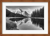 Lake Reflecting White Mountains Fine-Art Print