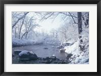 Buffalo River Snow 45 Fine-Art Print