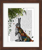 Hare with Butterfly Cloak Fine-Art Print