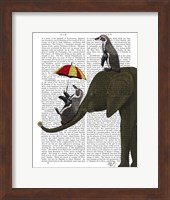 Elephant and Penguin Fine-Art Print