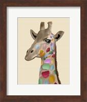 MultiColoured Giraffe Fine-Art Print