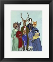 Woodland Family Fine-Art Print