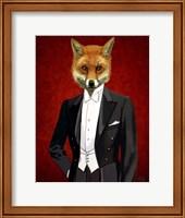 Fox In Evening Suit Portrait Fine-Art Print