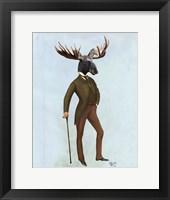 Moose In Suit Full Fine-Art Print