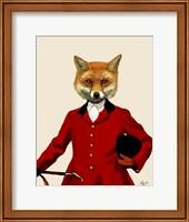 Fox Hunter 2 Portrait Fine-Art Print