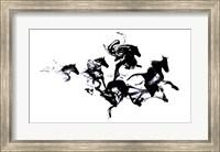 Black Horses Fine-Art Print