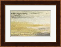 Siena Abstract Yellow Gray Landscape Fine-Art Print