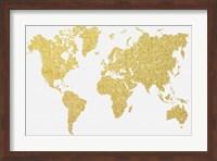 Gold Map Fine-Art Print