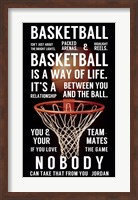 Basketball is a Way of Life Fine-Art Print