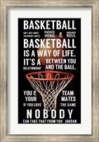Basketball is a Way of Life Fine-Art Print