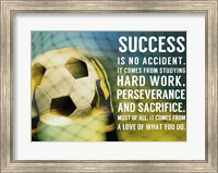 Success Soccer Quote Fine-Art Print