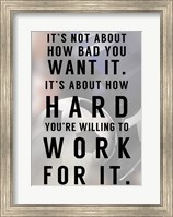 Work For It Fine-Art Print