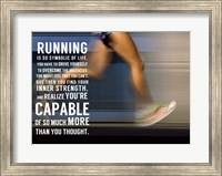 Running Fine-Art Print