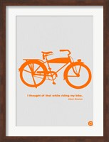 I Thought Of That While Riding My Bike Fine-Art Print