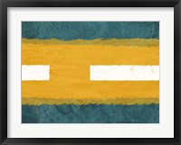 Green and Yellow Abstract Theme 1 Fine-Art Print
