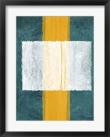 Green and Yellow Abstract Theme 3 Fine-Art Print