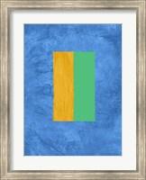Blue and Square Theme 2 Fine-Art Print