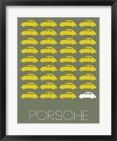 Porsche Yellow Fine-Art Print