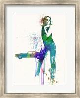 Mustang Girl Fine-Art Print