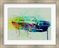 Ford Mustang Watercolor 2 Fine-Art Print