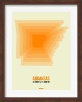 Arkansas Radiant Map 1 Fine-Art Print