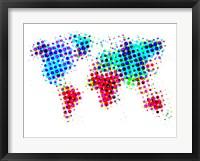 Dotted World Map 6 Fine-Art Print