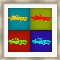 Ford Mustang Pop Art 1 Fine-Art Print