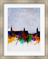 Stockholm Watercolor Skyline Fine-Art Print