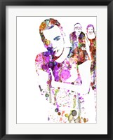 Trainspotting Watercolor 1 Fine-Art Print